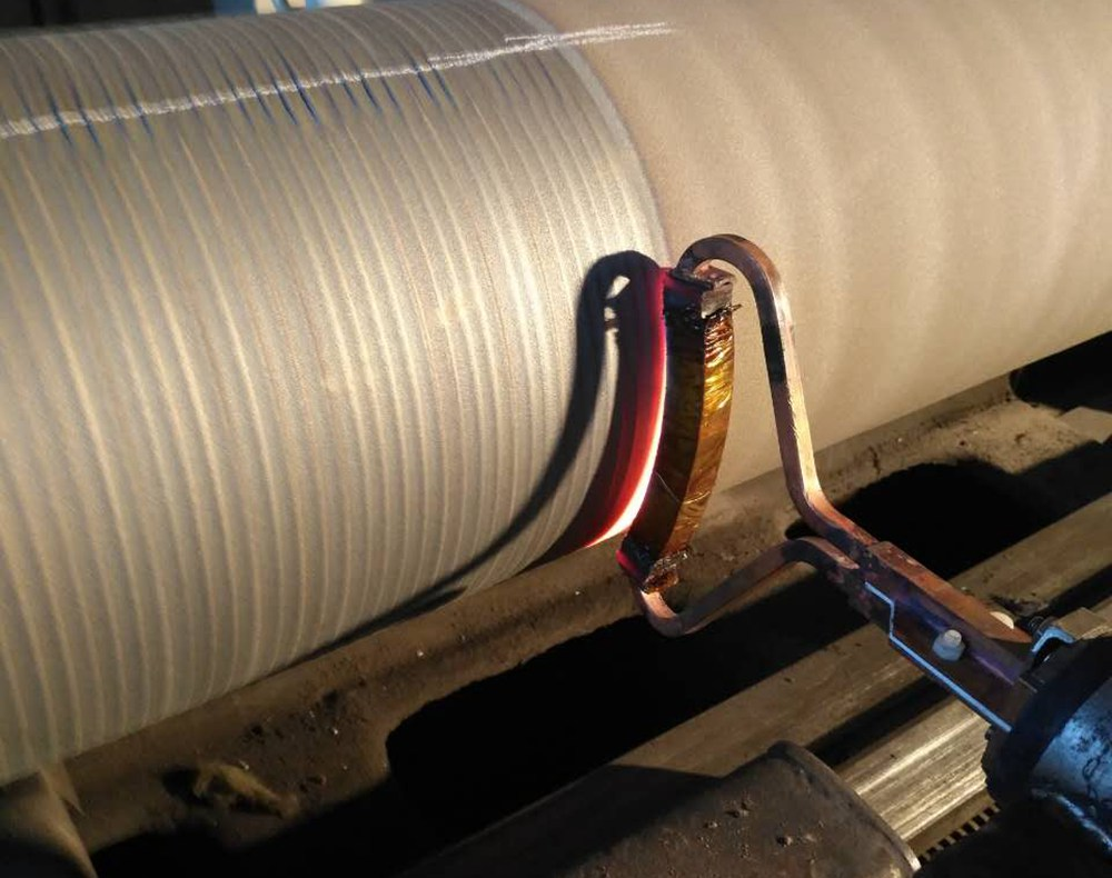 超音频熔敷轧钢辊道