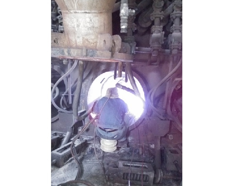 高炉风口煤气堵漏